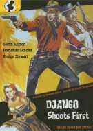 Django Shoots First Movie