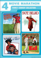 Dudley Do-Right / Sgt. Bilko / Cop And A Half / Ed (4 Movie Marathon) Movie