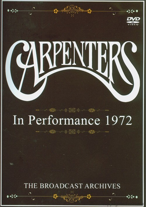 Carpenters: In Performance 1972 Movie