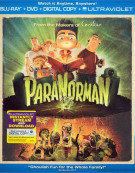 ParaNorman (Blu-ray + DVD + Digital Copy + UltraViolet) Blu-ray