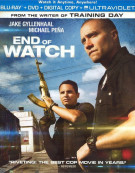 End Of Watch (Blu-ray + DVD + Digital Copy + UltraViolet) Blu-ray