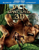 Jack The Giant Slayer 3D (Blu-ray 3D + Blu-ray + DVD + UltraViolet) Blu-ray
