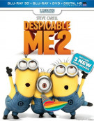 Despicable Me 2 3D (Blu-ray 3D + Blu-ray + DVD + UltraViolet) Blu-ray