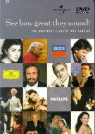 See How Great They Sound: The Universal Classics DVD Sampler Movie