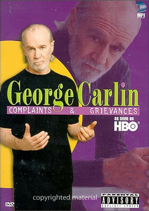 George Carlin: Complaints & Grievances Movie