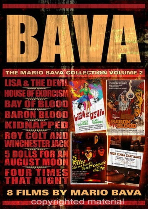 Bava: The Mario Bava Collection - Volume 2 Movie