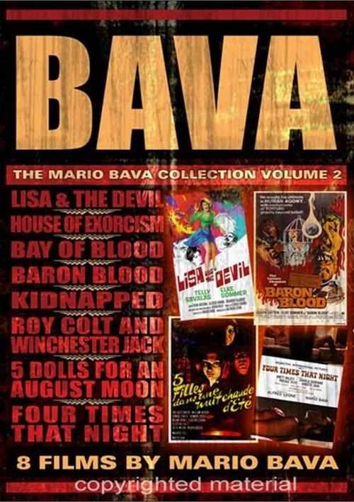 Bava: The Mario Bava Collection - Volume 2 Movie