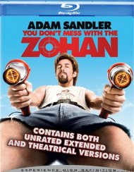 You Dont Mess With The Zohan: Unrated Blu-ray