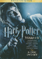 Harry Potter: Years 1 - 6 (Fullscreen) Movie
