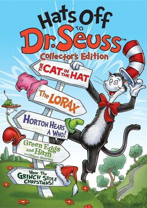 hats off to dr seuss collectors edition dvd dvd empire