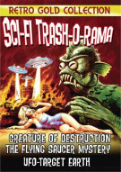 Sci-Fi Trash-O-Rama Triple Feature (Creature Of Destruction / UFO Target Earth / The Flying Saucer Mystery) Movie