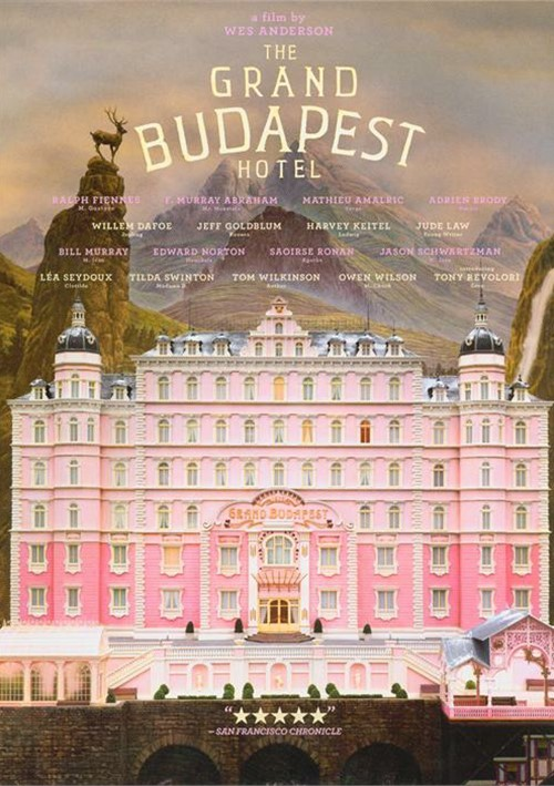 grand budapest hotel the dvd 2014 dvd empire. Black Bedroom Furniture Sets. Home Design Ideas