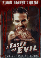 Blood Soaked Cinema: Taste Of Evil Movie