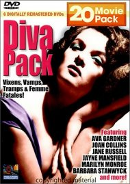 Diva Pack: 20 Movie Pack Movie