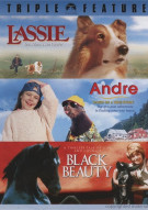 Lassie / Andre / Black Beauty (Triple Feature) Movie