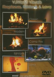 VJWorld Visuals: Fireplaces, Fishtank & Lava Movie