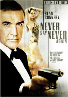 Never Say Never Again: Collectors Edition Movie