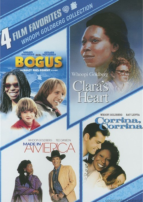 4 Film Favorites: Whoopi Goldberg Collection Movie