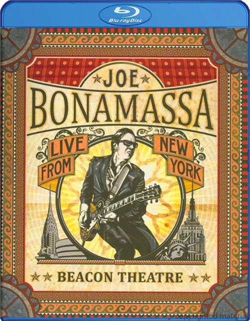 Joe Bonamassa: Beacon Theatre - Live From New York Blu-ray