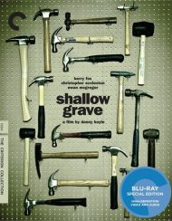 Shallow Grave: The Criterion Collection Blu-ray