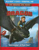 How To Train Your Dragon (Blu-ray + DVD + Digital HD) Blu-ray