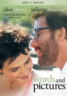 Words And Pictures (DVD + UltraViolet) Movie