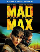 Mad Max: Fury Road (Blu-ray + DVD + UltraViolet) Blu-ray