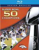 Superbowl 50: Denver Broncos vs. Carolina Panthers (Blu-ray + DVD Combo) Blu-ray