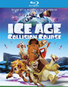 Ice Age: Collision Course (Blu-ray 3D + Blu-ray + DVD + UltraViolet) Blu-ray
