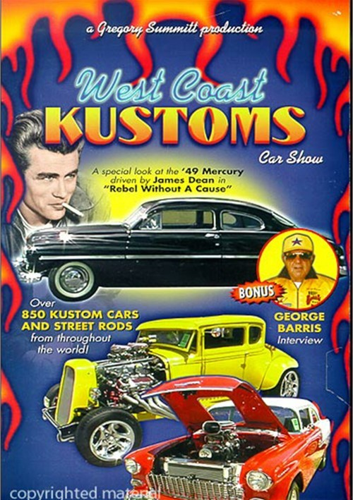 West Coast Kustoms Car Show Movie