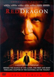 Red Dragon (Fullscreen) Movie