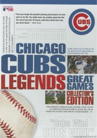 Chicago Cubs Legends: Great Games - Collectors Edition Movie