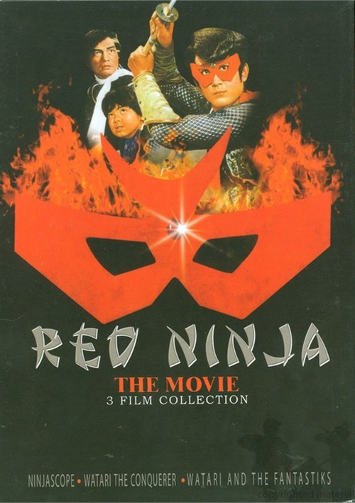 Red Ninja 3-Film Set Movie