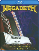 Megadeth: Rust In Peace Live Blu-ray