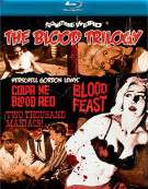 Blood Trilogy, The: Blood Feast / Two Thousand Maniacs / Color Me Blood Red Blu-ray