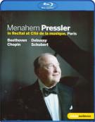 Menahem Pressler: Piano Recital Blu-ray