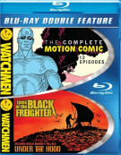 Watchmen: The Complete Motion Comic / Watchmen: Tales Of The Black Freighter & Under The Hood (Double Feature) Blu-ray