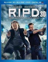 R.I.P.D. 3D (Blu-ray 3D + Blu-ray + DVD + UltraViolet) Blu-ray