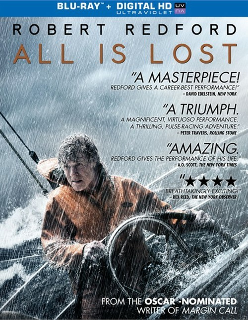 All Is Lost (Blu-ray + UltraViolet) Blu-ray