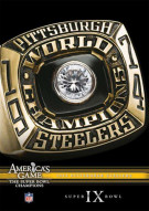NFL Americas Game: 1974 Pittsburgh Steelers Super Bowl IX Movie