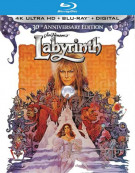 Labyrinth 30th Anniversary Edition (Blu-Ray + 4K-UHD) Blu-ray