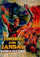 Sword And Sandal Double Feature: Giants Of Thessaly / Sins Of Rome Movie