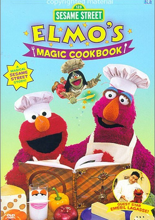 Sesame Street: Elmo's Magic Cookbook (DVD 2004) | DVD Empire