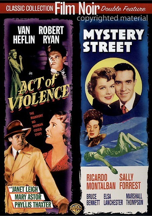 Act Of Violence / Mystery Street (Double Feature) Movie