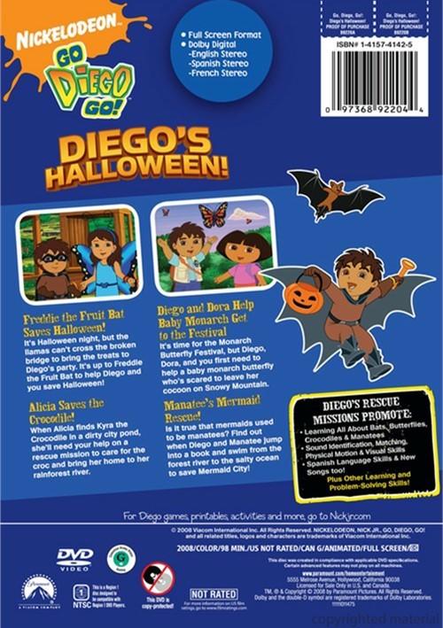Go Diego Go Diegos Halloween