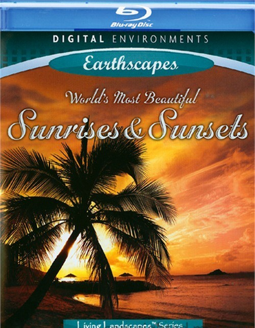 Worlds Most Beautiful Sunrises & Sunsets Blu-ray