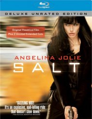 Salt: Deluxe Unrated Edition Blu-ray