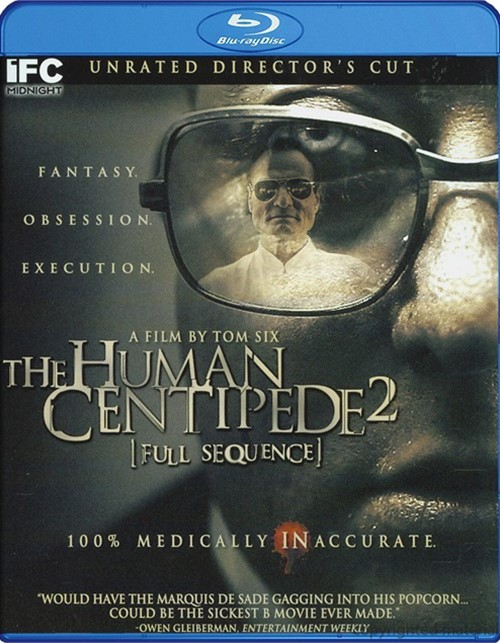 Human Centipede 2, The: Full Sequence Blu-ray