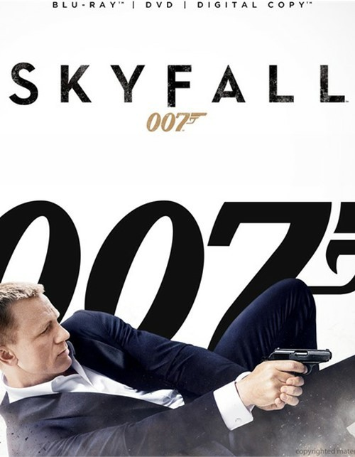 Skyfall (Blu-ray + DVD + Digital Copy) Blu-ray