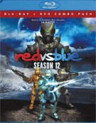 Red Vs. Blue: Season 12 (Blu-ray + DVD Combo) Blu-ray